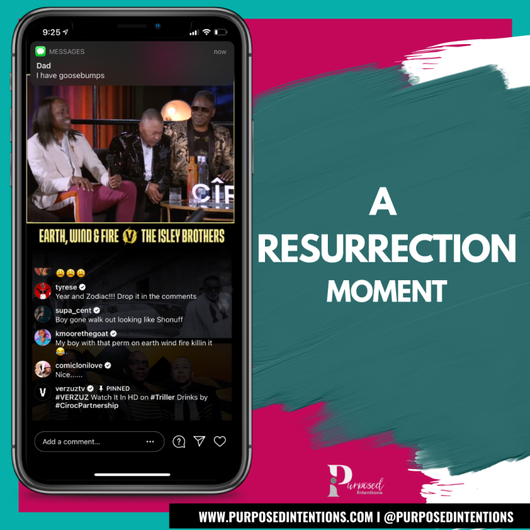 #WDTFIMT - A RESURRECTION MOMENT